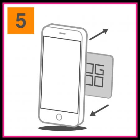 Attacca e stacca il tuo smartphone con un semplice gesto